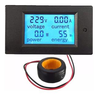 Voltímetro Digital Ac Wattímetro Amperímetro Kilowatts H