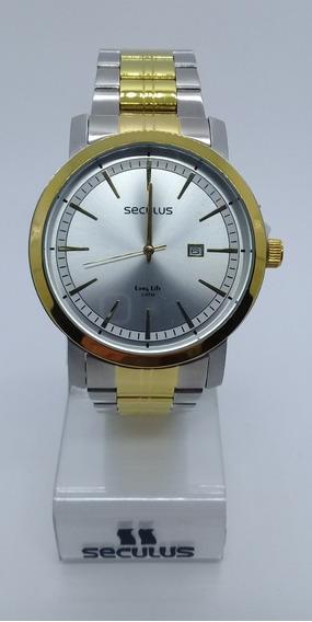 Relógio Seculus Masculino Misto 20420gpsvba2