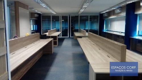 Conjunto Comercial Para Alugar, 184m² - Brooklin - São Paulo/sp - Cj2197