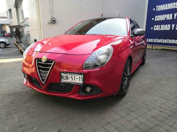 Alfa Romeo Giulietta 2016 5p Quadrifoglio Verde Ta