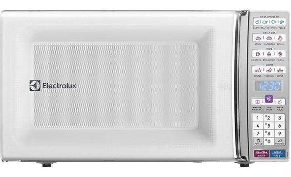 Micro-ondas Electrolux 34 Litros, Branco - Meo44