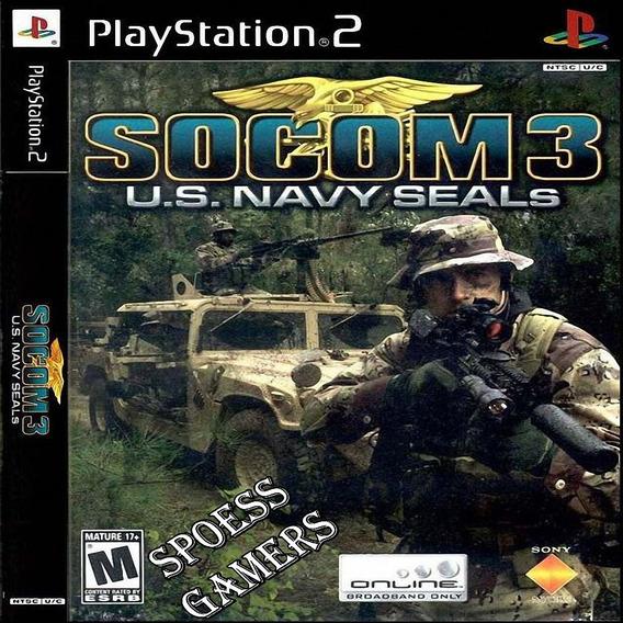 Socom 3 U.s. Navy Seals Ps2 Patch ( Tiro ) Fps