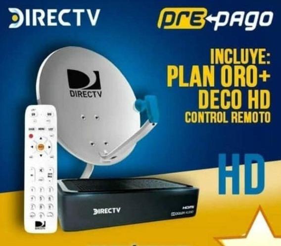 Decodificador Directv Hd Prepago Antena Kit Instalacion