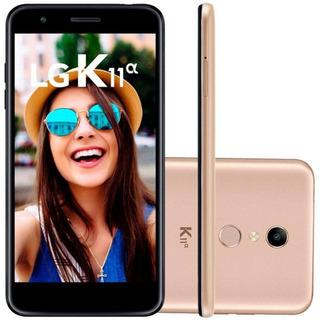Smartphone Lg K11 Alpha X410btw 16gb Dourado Lacrado