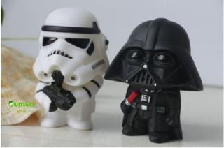 Brinquedo Ação Darth Vader E Stormtrooper