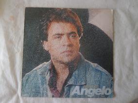 Lp Angelo Agua Viva, Disco Vinil Gospel Com Encarte, 1985