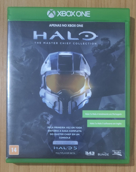 Halo The Master Chief Collection - Xbox One - Mídia Fisica !