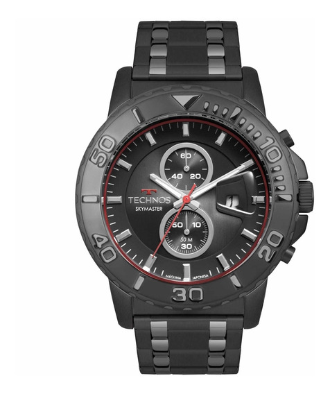 Relógio Technos Masculino Skymaster Cronógrafo Os11ec/1p