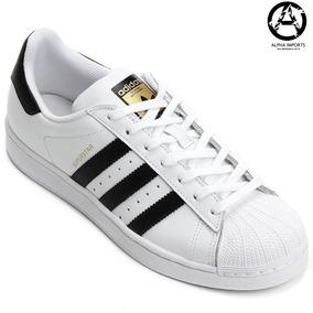67b8f5c2d34 Tênis Adidas Originals Superstar Foundation Branco preto - Tênis no ...