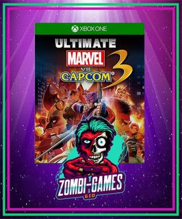 Ultimate Marvel Vs. Capcom 3 Xbox One Modo Local