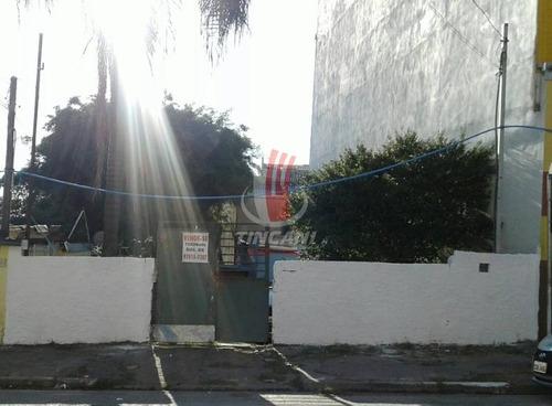 Terreno Para Venda No Bairro Vila Ré, 500 M - 5053