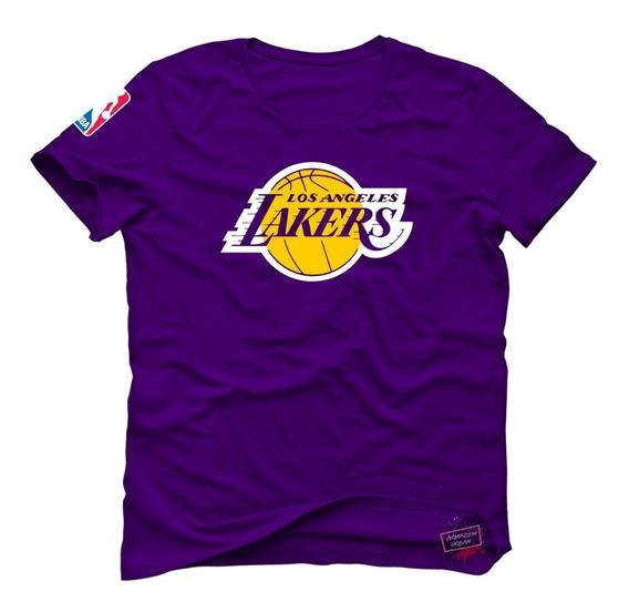 Camisa Camiseta Nba Los Angeles Lakers T-shirt