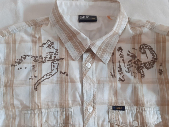 Camisa Lee Hombre Talle M
