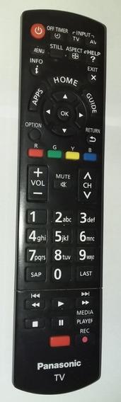 Controle Remoto Da Tv Panasonic Tc-l39el6b (original)