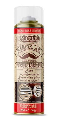 Imagem 1 de 5 de Higienizador Limpa Ar Condicionado Vintage 200ml Centralsul