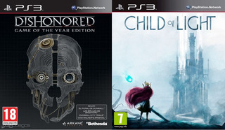 Dishonored Goty + Child Of Light ~ Ps3 Digital Español