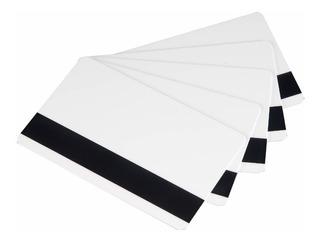 Tarjeta Pvc Con Banda Magnetica Hico (paquete 100)