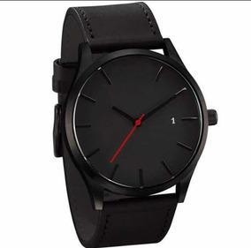 Relógio Unissex Correia De Couro