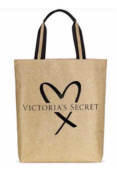 Bolsa Da Victorias Secret Dourada