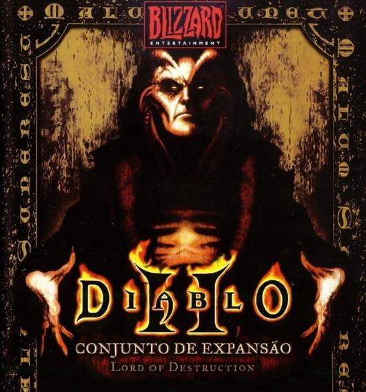 Jogo Diablo 2 + Expansão Lord Of Destruction
