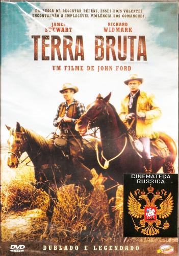 Dvd Terra Bruta, John Ford, James Stewart Rick Widmark 1961+