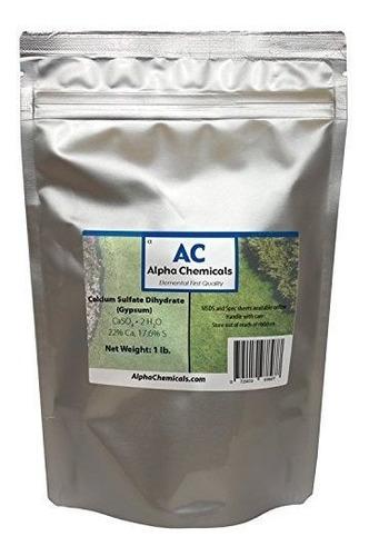 Alpha Chemicals Dihidrato De Sulfato Calcio