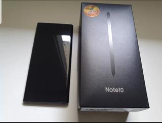 Samsung Galaxy Note 10 Preto Nacional + Brinde