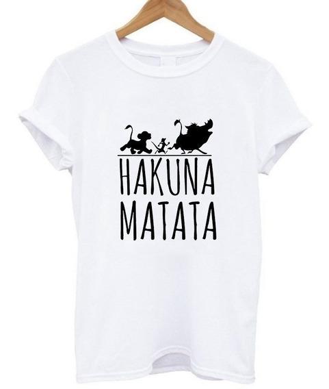 Playera Hakuna Matata Mujer Hombre