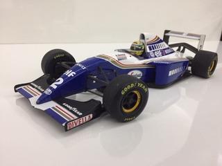 Miniaturas 1/18 - Willians Senna