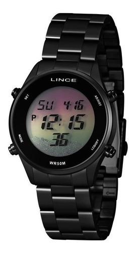 Imagem 1 de 7 de Relógio Lince Feminino Digital  Sdn4638l Qxpx