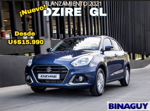 Suzuki Dzire Gl 2021 / Nueva Version / Permuto Financio 100%