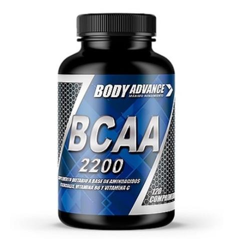 Bcaa 120 Comprimidos. Aminoácidos. Body Advance