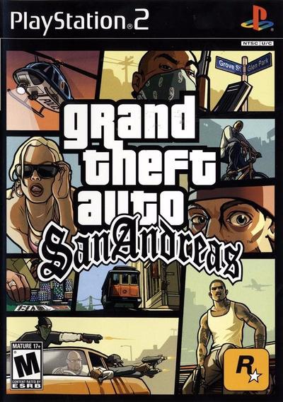 Gta San Andreas Português G T A - Jogo Ps2