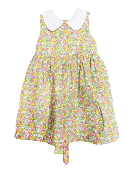 Vestido De Niña Epk, Talla 23 Meses, Estampado De Flores