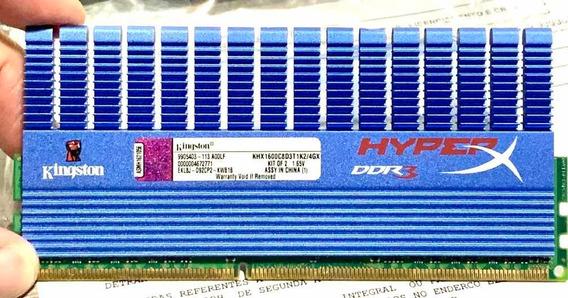 Memorias Ddr3 Kingston Hyper-x 8gb - 2x4gb