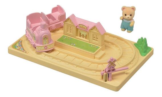 Brinquedo Infantil Trenzinho Do Bebê - Sylvanian Families