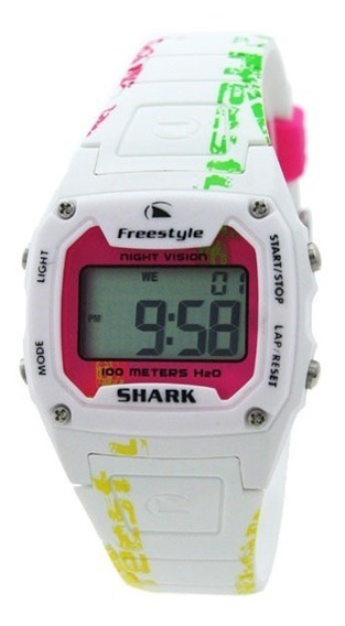 Relógio Freestyle Fs81288 Shark Classic White/pink
