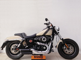 Harley Davidson Dyna Fat Bob Fxdf 2015 Bege