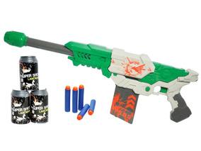 Lançador De Dardos 60cm Super Shot Master Com Acessórios