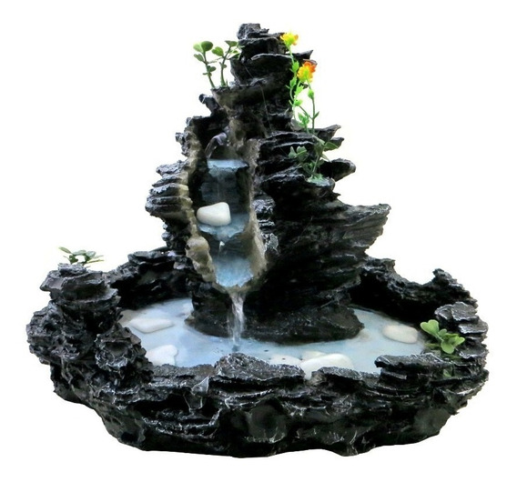 Fonte De Água Imita Pedra Cascata Frete Desconto Sp Mg Rj Sc