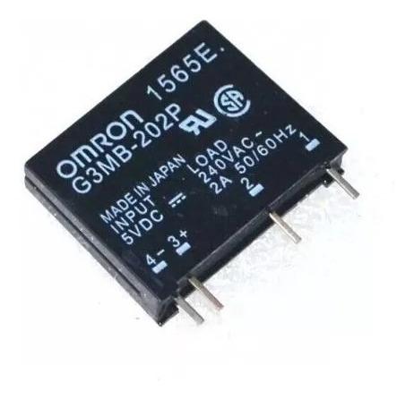 Rele Estado Solido Ssd G3mb-202p 5v 240vac 2a Esp32 Arduino