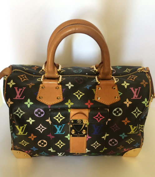 Cartera Louis Vuitton Speedy 30 Multicolor