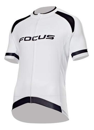 Jersey Ciclismo Focus Rc Blanco Negro