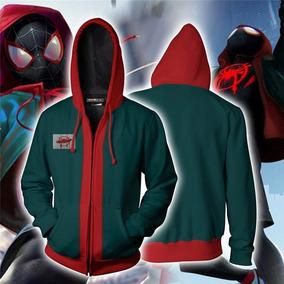 Jaqueta Moleton Blusa Homem-aranha Aranhaverso