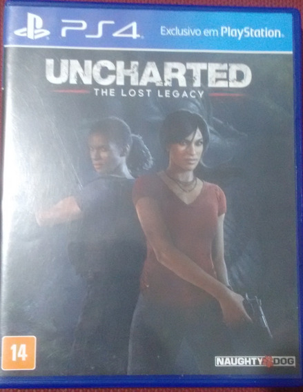 Uncharted The Lost Legacy Semi Novo