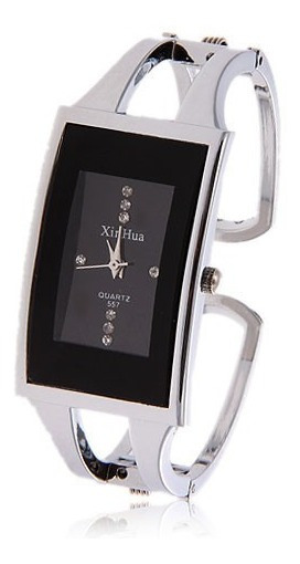 Relogio Feminino Pulseira Bracelete Relógio Retangular