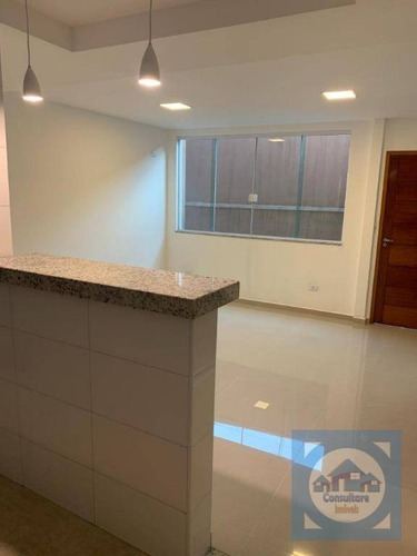 Casa Com 2 Dormitórios À Venda, 90 M² Por R$ 469.000,00 - Marapé - Santos/sp - Ca0949
