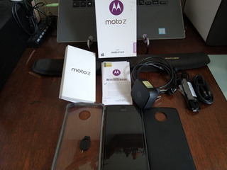 Motorola Moto Z Style Edition 64gb-preto/grafite - Xt1650-03