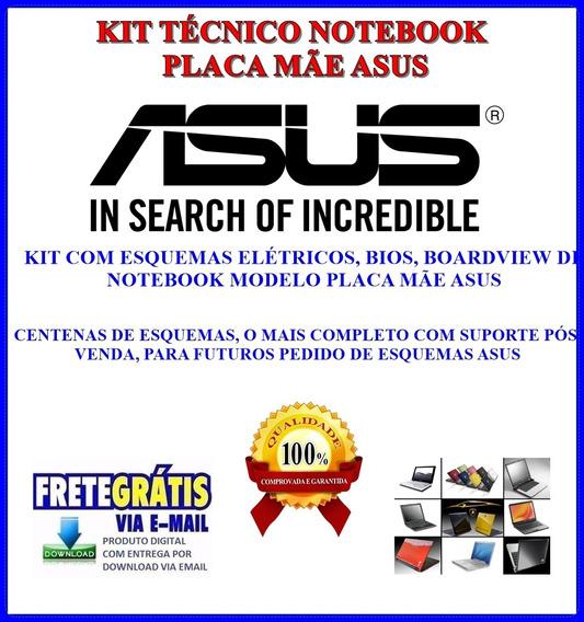 Kit Tecnico Notebook Asus, Esquemas, Bios E Boardview