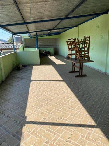 Imagem 1 de 12 de Sobrado Com 2 Dormitórios Para Alugar, 210 M² Por R$ 2.500,00/mês - Ferrazópolis - São Bernardo Do Campo/sp - So0486